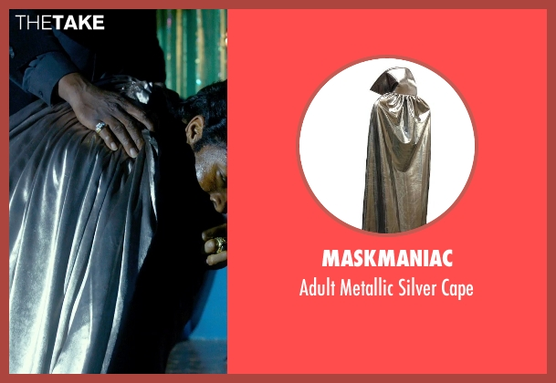 MaskManiac cape from Get On Up seen with Chadwick Boseman (James Brown)