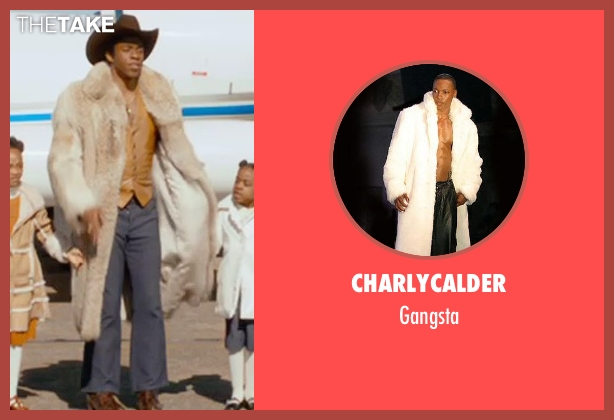 Charlycalder gangsta from Get On Up seen with Chadwick Boseman (James Brown)