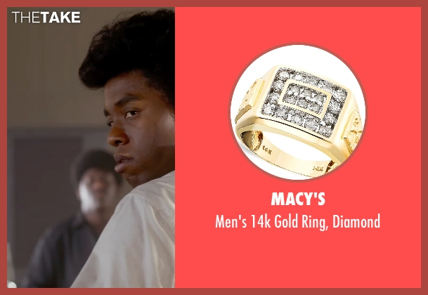 Macy's gold diamond from Get On Up seen with Chadwick Boseman (James Brown)