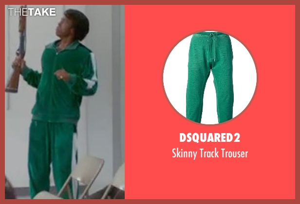 Dsquared2 green trouser from Get On Up seen with Chadwick Boseman (James Brown)