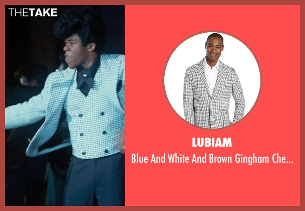 LUBIAM white blazer from Get On Up seen with Chadwick Boseman (James Brown)