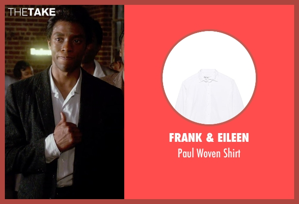 Frank & Eileen white shirt from Get On Up seen with Chadwick Boseman (James Brown)