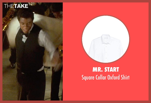 Mr. Start white shirt from Get On Up seen with Chadwick Boseman (James Brown)