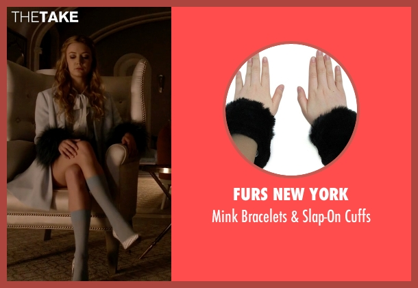 Furs New York black cuffs from Scream Queens seen with Chanel #3 (Billie Lourd)