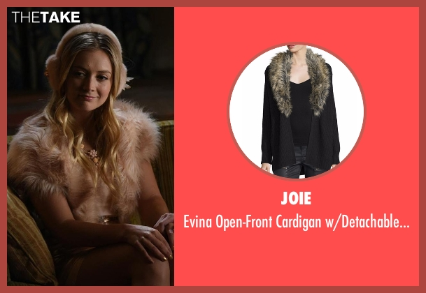 Joie brown collar from Scream Queens seen with Chanel #3 (Billie Lourd)