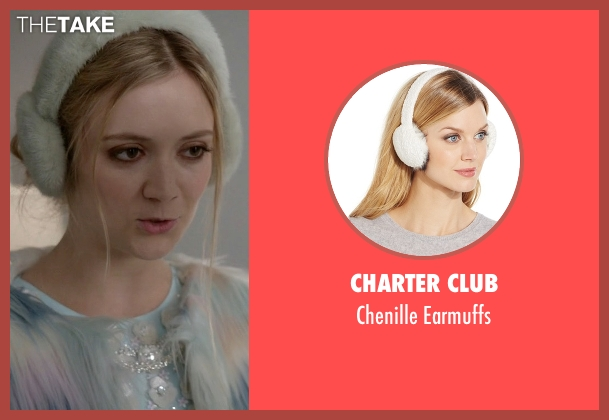Charter Club earmuffs from Scream Queens seen with Chanel #3 (Billie Lourd)