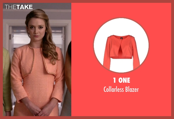 1 One orange blazer from Scream Queens seen with Chanel #3 (Billie Lourd)