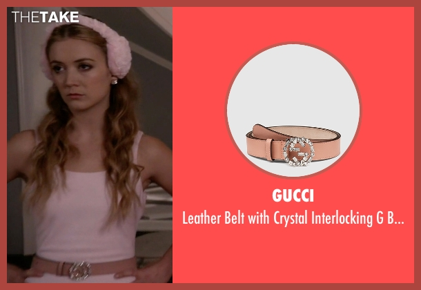 Gucci pink buckle from Scream Queens seen with Chanel #3 (Billie Lourd)
