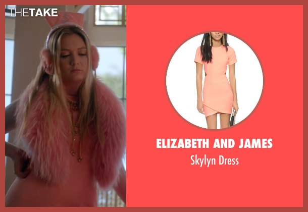 Elizabeth and James pink dress from Scream Queens seen with Chanel #3 (Billie Lourd)