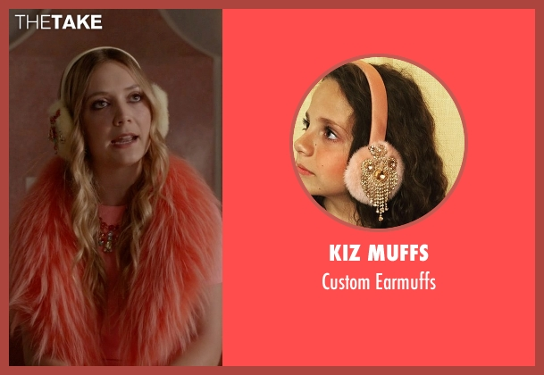 Kiz Muffs pink earmuffs from Scream Queens seen with Chanel #3 (Billie Lourd)
