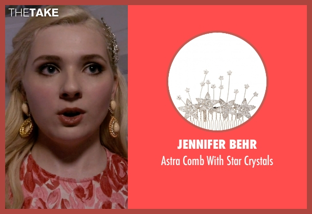 Jennifer Behr crystals from Scream Queens seen with Chanel #5 (Abigail Breslin)