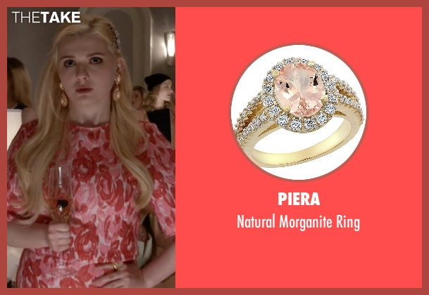 Piera gold ring from Scream Queens seen with Chanel #5 (Abigail Breslin)