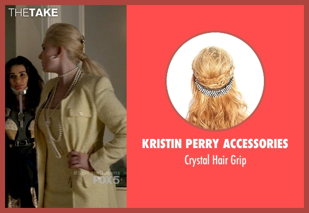 Kristin Perry Accessories grip from Scream Queens seen with Chanel #5 (Abigail Breslin)