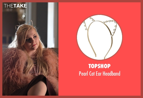 Topshop headband from Scream Queens seen with Chanel #5 (Abigail Breslin)