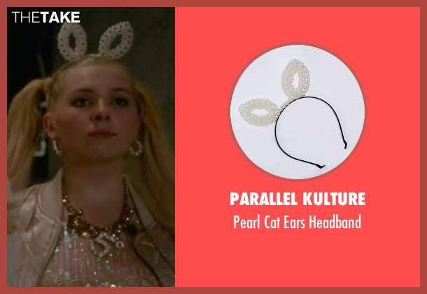 Parallel Kulture headband from Scream Queens seen with Chanel #5 (Abigail Breslin)