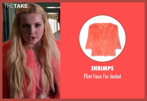 Shrimps red jacket from Scream Queens seen with Chanel #5 (Abigail Breslin)