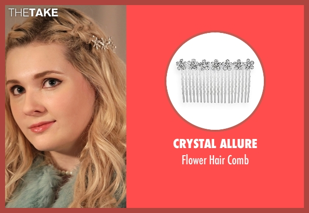 Crystal Allure silver comb from Scream Queens seen with Chanel #5 (Abigail Breslin)
