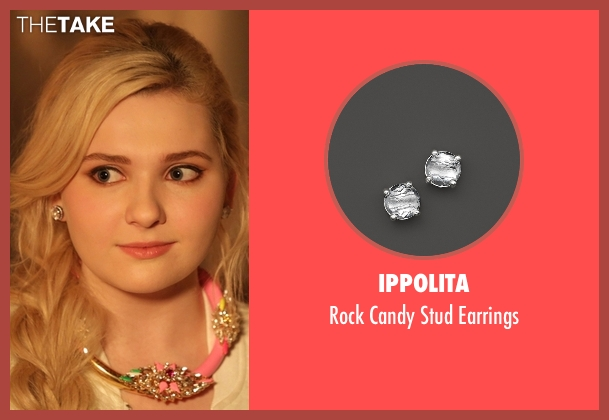 Ippolita silver earrings from Scream Queens seen with Chanel #5 (Abigail Breslin)