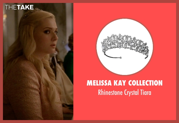 Melissa Kay Collection tiara from Scream Queens seen with Chanel #5 (Abigail Breslin)