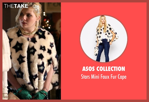 Asos Collection white cape from Scream Queens seen with Chanel #5 (Abigail Breslin)