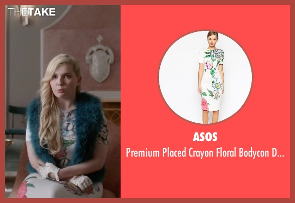 Asos white dress from Scream Queens seen with Chanel #5 (Abigail Breslin)