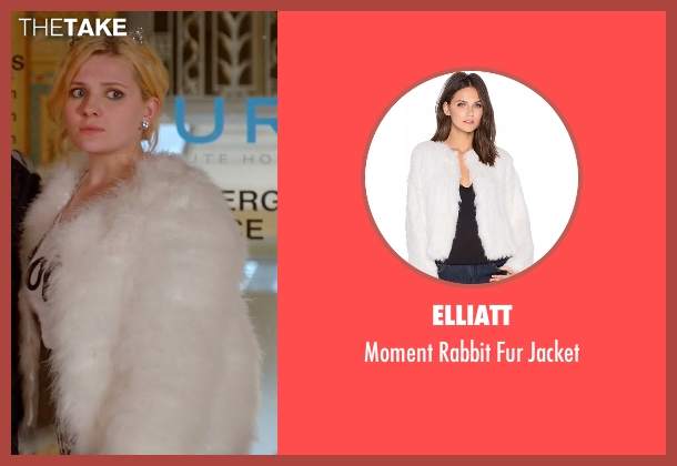 Elliatt white jacket from Scream Queens seen with Chanel #5 (Abigail Breslin)