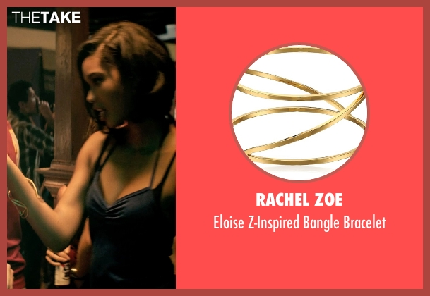 Rachel Zoe gold bracelet from Dope seen with Chanel Iman (Lily)