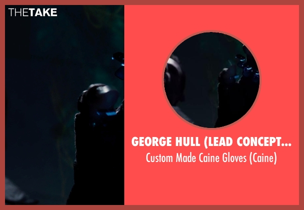 George Hull (Lead Conceptual Designer) gloves from Jupiter Ascending seen with Channing Tatum (Caine)