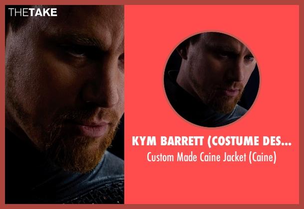 Kym Barrett (Costume Designer) jacket from Jupiter Ascending seen with Channing Tatum (Caine)