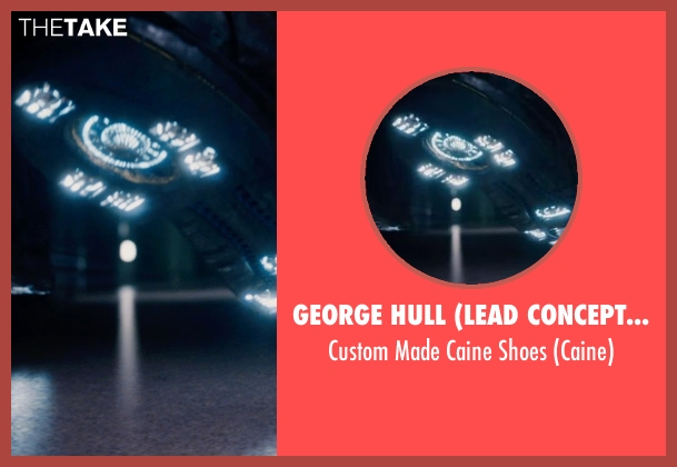 George Hull (Lead Conceptual Designer) shoes from Jupiter Ascending seen with Channing Tatum (Caine)