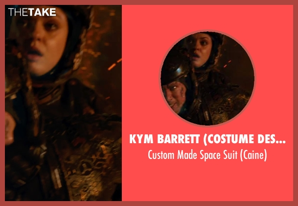 Kym Barrett (Costume Designer) suit from Jupiter Ascending seen with Channing Tatum (Caine)