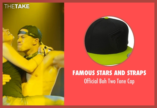 Famous Stars And Straps black cap from Magic Mike XXL seen with Channing Tatum (Magic Mike)