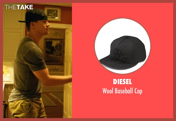 Diesel black cap from Magic Mike XXL seen with Channing Tatum (Magic Mike)