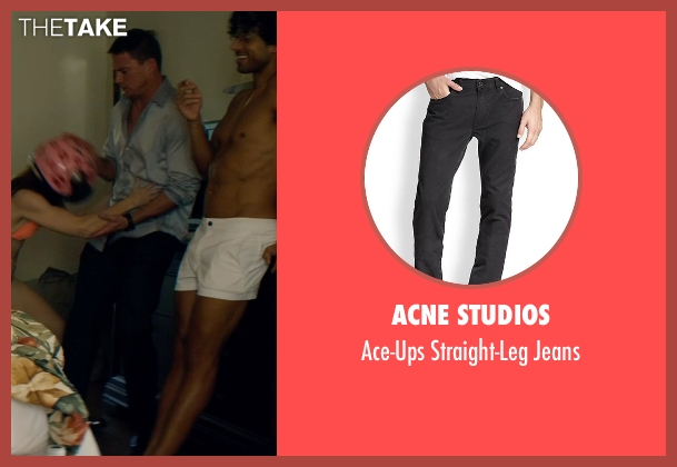 Acne Studios black jeans from Magic Mike XXL seen with Channing Tatum (Magic Mike)