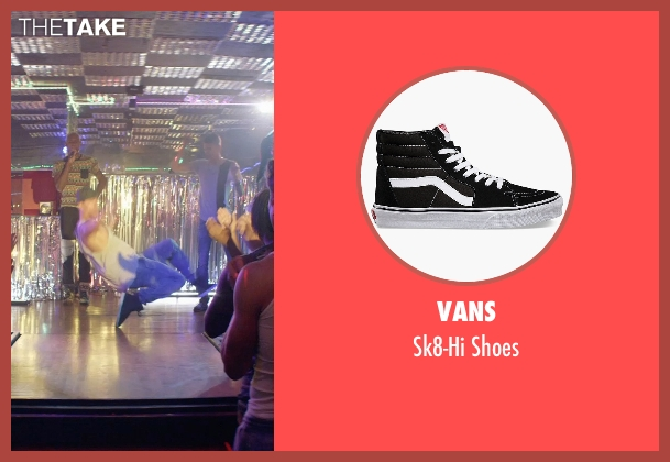 Vans black shoes from Magic Mike XXL seen with Channing Tatum (Magic Mike)