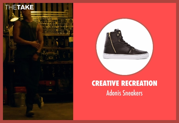 Creative Recreation black sneakers from Magic Mike XXL seen with Channing Tatum (Magic Mike)