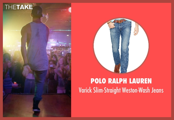 Polo Ralph Lauren blue jeans from Magic Mike XXL seen with Channing Tatum (Magic Mike)