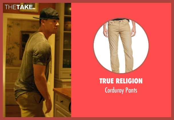 True Religion brown pants from Magic Mike XXL seen with Channing Tatum (Magic Mike)