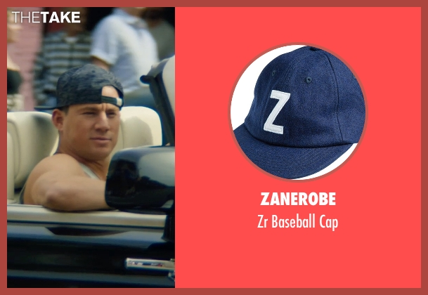 Zanerobe cap from Magic Mike XXL seen with Channing Tatum (Magic Mike)