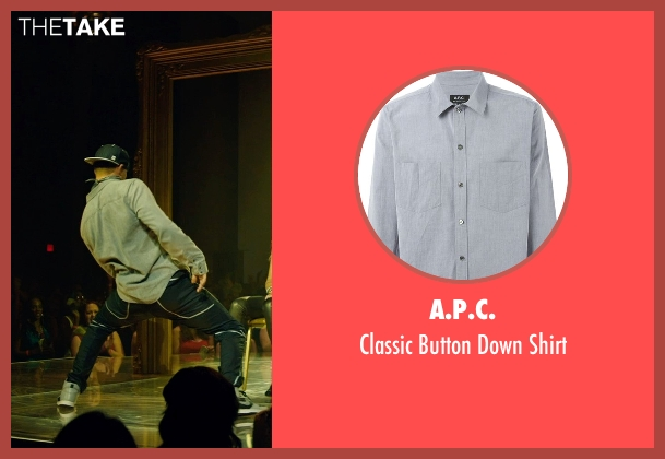 A.P.C. gray shirt from Magic Mike XXL seen with Channing Tatum (Magic Mike)