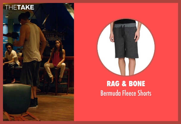 Rag & Bone gray shorts from Magic Mike XXL seen with Channing Tatum (Magic Mike)
