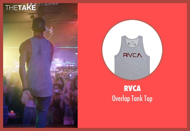 RVCA gray top from Magic Mike XXL seen with Channing Tatum (Magic Mike)