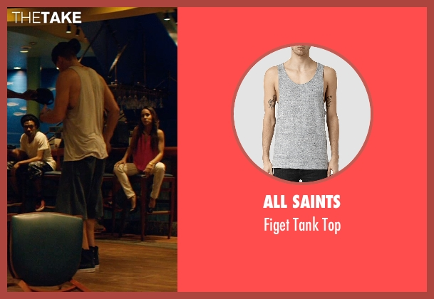 All Saints gray top from Magic Mike XXL seen with Channing Tatum (Magic Mike)