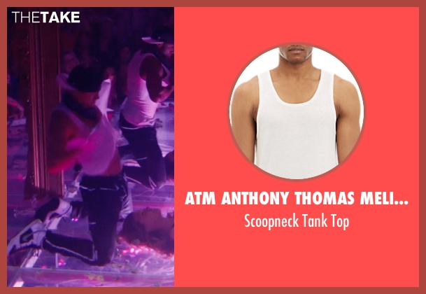 ATM Anthony Thomas Melillo white top from Magic Mike XXL seen with Channing Tatum (Magic Mike)