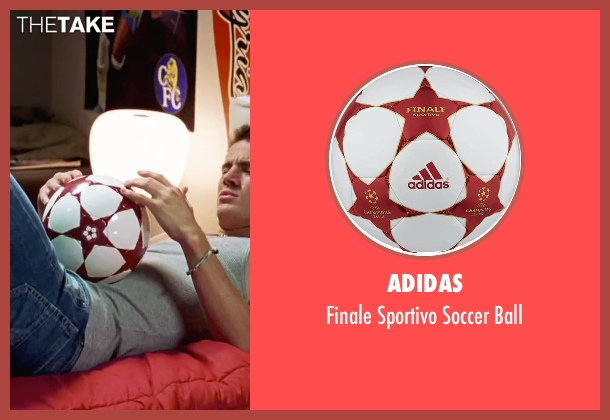 Adidas ball from She's The Man seen with Channing Tatum (Duke)