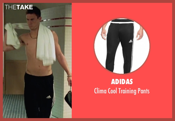 Adidas black pants from She's The Man seen with Channing Tatum (Duke)