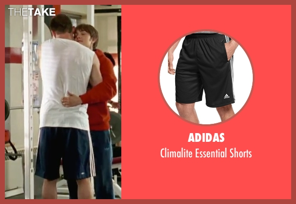 Adidas black shorts from She's The Man seen with Channing Tatum (Duke)