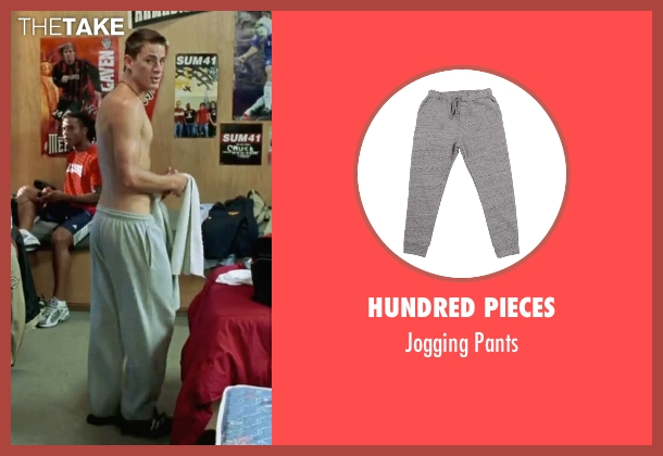Hundred Pieces  gray pants from She's The Man seen with Channing Tatum (Duke)