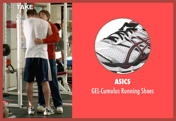Asics white shoes from She's The Man seen with Channing Tatum (Duke)