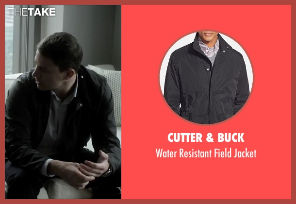 Cutter & Buck black jacket from Side Effects seen with Channing Tatum (Martin Taylor)